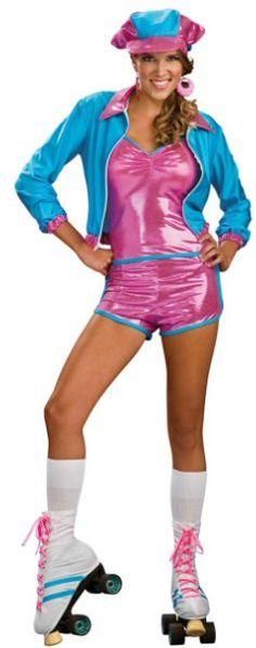 Miss Vintage Pop Culture: Roller Disco Halloween!