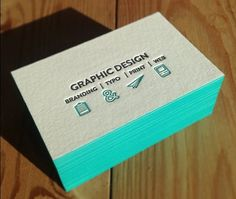 Made of thick paperboard, luxury embossed business cards with letterpress printing with colored edges, 500pcs a lot wholesale