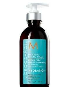 Moroccan Oil is great for slicking back hair without any frizz.