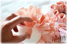DIY Dollar Store Rose Petals Soap Ball
