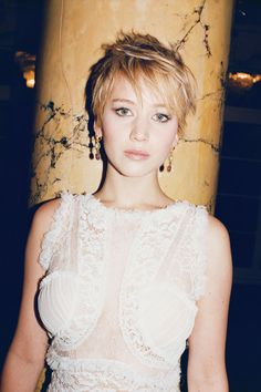 The actress, who wowed in both American Hustle and The Hunger Games: Catching Fire, stars in W's Best Performances portfolio.