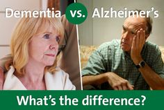 Did you know that there are distinct differences between Alzheimer's & Dementia? As a caregiver or family member to an aging loved one, it's important to understand the differences. #EndAlz
