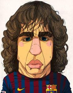 Carles Puyol i Saforcada (Catalan pronunciation: [ˈkarɫəs puˈjɔɫ]; born 13 April 1978) is a Spanish footballer who plays for FC Barcelona and the Spanish national team. Mainly a central defender, he can also play on either flank, especially as a right back.