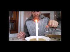 El recipiente y la vela   Experimentos para niños y mas