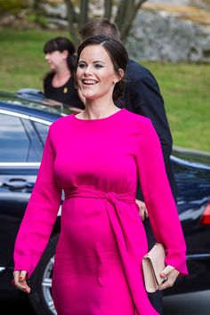 Princess Sofia attended a merit ceremony at Sophiahemmet College on May 31, 2017.