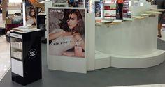 Agosto 2014 Aeropuerto de Málaga Promoción Coco Mademoiselle para Chanel.
