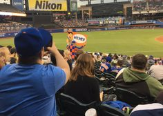 New York Mets Fan Goes All-In At Citi Field for Wilmer Flores (Photo)