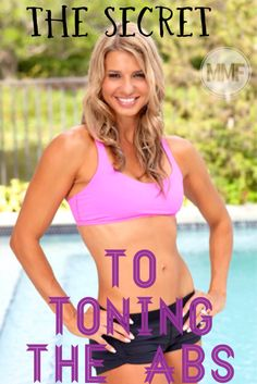 You have to know these things to get TONED #ABS.   Awesome TIPS to flatten #BELLY and tone the #CORE. http://michellemariefit.publishpath.com/women-fitness-programs-abs-exercises