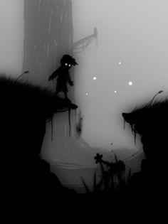 Oooh, creepy misty illustration here!  Great mix of tones really get across the eerie feel of this image.