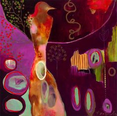 """""""Vivid Life"""" by Flora Bowley, 2010 Flora Bowley, Collage, Paintings I Love, Art Graphique, Painting Inspiration, Color Inspiration, Love Art, Art For Kids, Illustration Art"""
