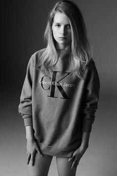 Calvin Klein CK Jeans Advertisement 2014 - Lottie Moss by Michael Avedon Jeans Calvin Klein, Calvin Klein Models, Grunge Fashion, 90s Fashion, Fashion Models, Fashion Brands, Jeans Fashion, Fashion Kids, French Fashion