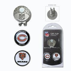 Chicago Bears NFL Cap Clip