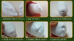 А вот и техника оформления кукольного лица с того самого японского сайта...
