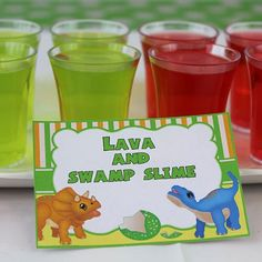 Label your Dinosaur Party food with these fabulous food tags.