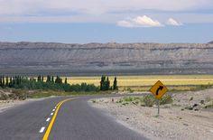 Ruta 40 entre Barrancas y Chos Malal, Neuquen. Patagonia