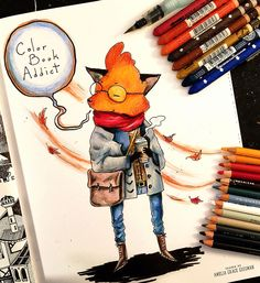 Coloring Up A Storm In The Doodlers Anonymous Epic Book