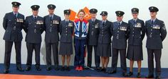 As Jade Jones fought her way to Olympic victory last night a team of RAF personnel flew the flag for Team GB when she took Gold in the Taekwondo Victory Ceremony.  Team Leader, Squadron Leader Jo Roe from RAF Brize Norton, is pictured on the left of Jade Jones.
