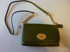 NWT Coach Crosstown Crossbody Pebble Leather Bag #53083 Limos Green MSRP $195.00