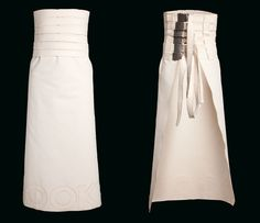 Walery apron by COOKie - It is a meaningful answer to the hunger of man's attitude and other culinary excitements. The cotton from which this apron is sewn drapes Bed Back, Bed Plans, Wedding Night, White Fabrics, That Way, One Shoulder Wedding Dress, Apron, Wedding Dresses, Lace