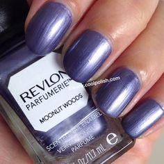 "Revlon Parfumerie - ""Moonlit Woods"" -T (not my pic) Funky Nail Art, Funky Nails, Love Nails, My Nails, Revlon Nail Polish, Nail Polish Brands, Sinful Colors, Nail Colors, Revlon Nagellack"