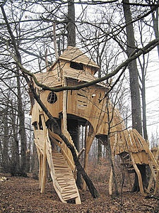 Great treehouse/fort/castle