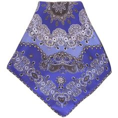 Classica-silk bandana by mila schön-royal blue (4.435 RUB) ❤ liked on Polyvore featuring accessories, scarves, silk scarves, silk shawl, royal blue handkerchief, royal blue shawl and silk bandana