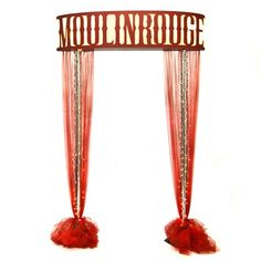 Welcome to the Moulin Rouge Arch Kit Burlesque Party Decorations, Burlesque Theme Party, Prom Decor, Party Table Decorations, Balloon Decorations, 40th Party Ideas, Wedding Ideas, Prom Themes, Gala Themes