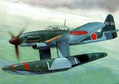 pinturas-sgm-aviacion:   1945 Aichi M6A1 Seiran... - Eyes to the Skies