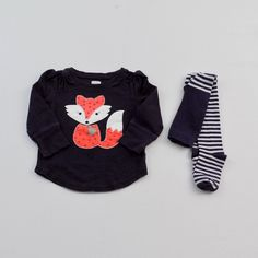 Mini Fashionista | Baby Girl 12-18 Months | Old Navy Long Sleeve Tee with Gymboree Tights | 21 Pieces for $69