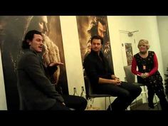 Richard Armitage and Luke Evans at Waterstones Piccadilly (Part 1) - 06/12/2013 - YouTube