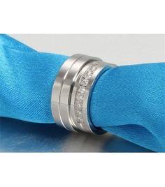 nemesacél gyűrű, Nemesacél női karikagyűrű Paros, Digital Watch, Accessories, Jewelry Accessories