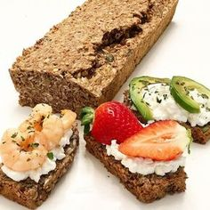 CHLEBÍK PLNÝ ZDRAVIA Low Carb Recipes, Vegan Recipes, Meatloaf, Great Recipes, Avocado Toast, Clean Eating, Paleo, Health Fitness, Food And Drink