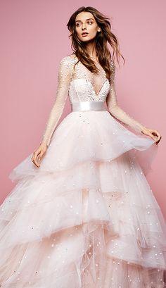 Monique Lhuillier | Vestidos de Novia 2016 | El Blog de una Novia | #novias #boda #vestidodenovia