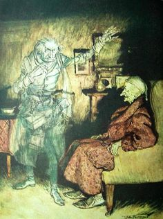 Scrooge by Arthur Rackham