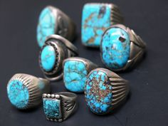 Buy Native American Turquoise Jewelry online from Perry Null Trading. We provide Navajo turquoise handmade jewelry, Zuni & Hopi jewelry, pottery, carvings, and loom woven rugs. Mens Turquoise Rings, Vintage Turquoise, Coral Turquoise, Turquoise Earrings, Navajo Jewelry, Ethnic Jewelry, American Indian Jewelry, Ring Designs, Jewelery