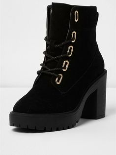 My new boots love them!!!  River Island River Island Chunky Heeled Lace Up Boot- Black, http://www.very.co.uk/river-island-river-island-chunky-heeled-lace-up-boot--black/1600220644.prd