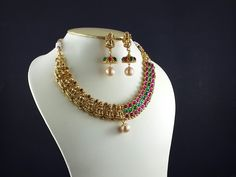 Designer Double Design Necklace - shop @ www.inventjewel.com