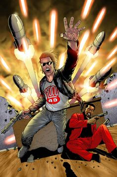 Review of SInister Dexter #1, from IDW publishing. It's a re-run of some of the series' old stuff from the 2000 AD days.