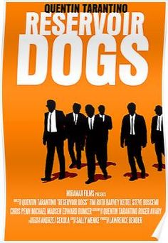 Quentin Tarantino Movie Poster Set: Reservoir Dogs / Inglourious Basterds / Jackie Brown by jessie Reservoir Dogs, Film Movie, See Movie, 10 Film, Films Cinema, Cinema Posters, Film Mythique, Dog Films, Quentin Tarantino Films