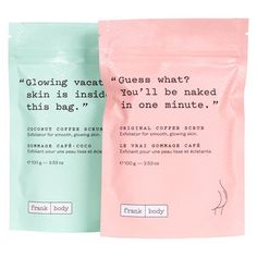 Frank Body - COFFEE SCRUB MINI SET