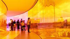 ARoS - artmuseum in Aarhus - a fantastic place