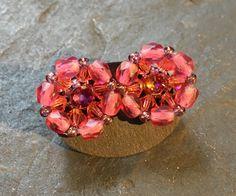 Brooch, Etsy Shop, Earrings, Color, Jewelry, Fashion, Handmade Beads, Glass Beads, Stud Earring