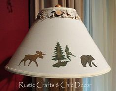 Rustic Crafts And Chic Decor: DIY lampshade