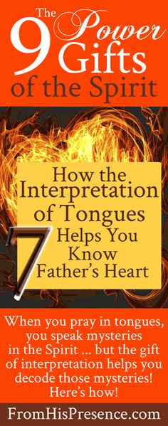 How the Interpretation of Tongues Helps You Know Father's Heart | by Jamie Rohrbaugh | FromHisPresence.com
