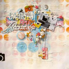 creativity is the art.. - Scrapbook.com
