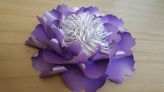 Giant Paper Flower Decoration-Purple-Table by WPaperFlowerDesign