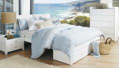 233 Felix on Bed Shed Rimini White Bedroom Suite
