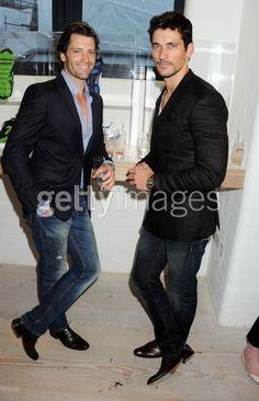 Best Friends David Gandy & Louis Dowler