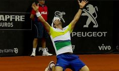 Pablo Cuevas campeón 🏆 x tercera vez en el Atp-250 de San Pablo!!