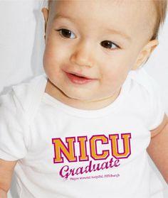 Personalized NICU Graduate Tee